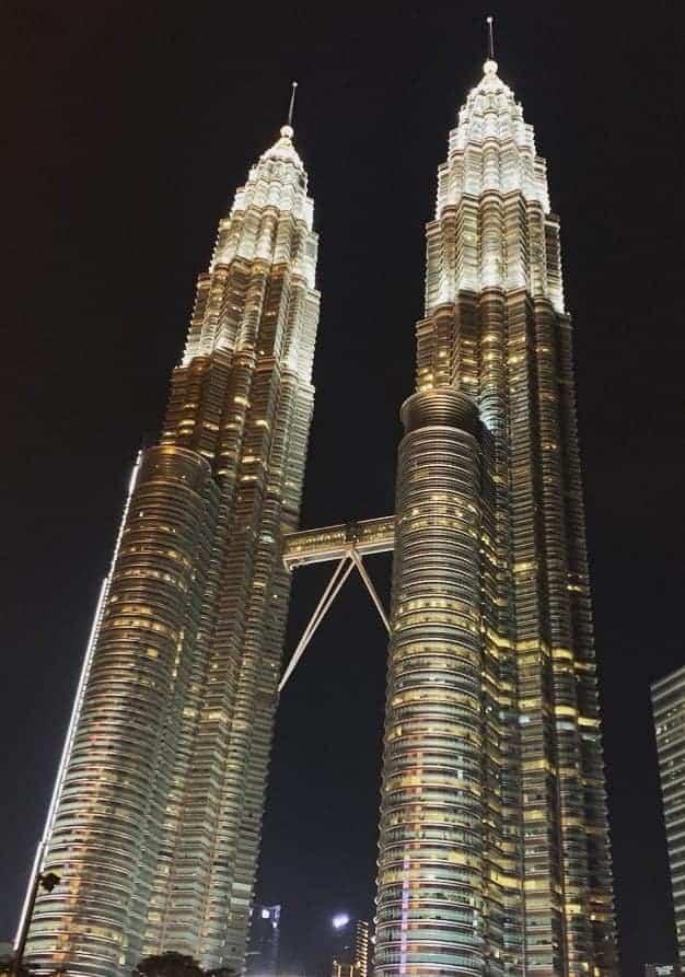 Petronas Towers, an iconic thing to do in Kuala Lumpur!