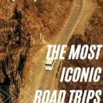 most iconic road trips in each state