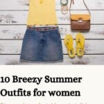 10 breezy summer outfits for women